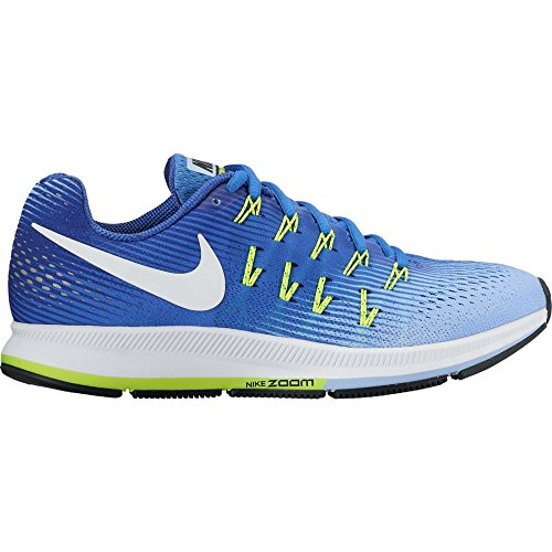 Nike Wmns Nike Air Zoom Pegasus 33–Medium Blue/White de Aluminum de Dee, tamaño #: 10.5