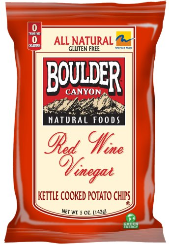 Red Sweet Wine Semi (Boulder Canyon Red Wine Vinegar Kettle Chips, 5-Ounce Bags (Pack of 12))