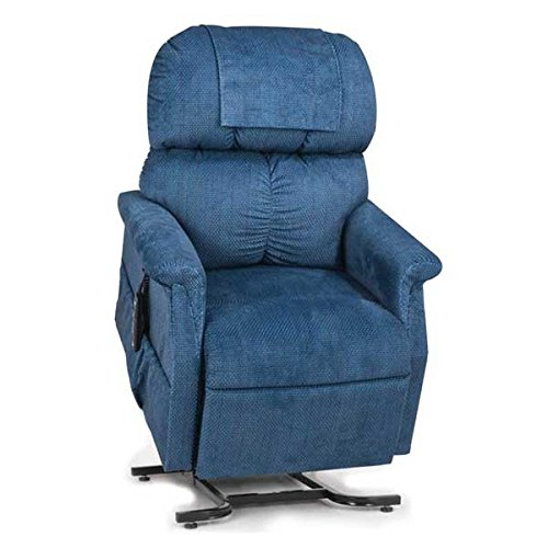 Golden Technologies MaxiComfort Dual Motor Comforter Lift Chair Infinite Position Recliner PR-505M Medium MaxiComforter - Admiral Blue ()