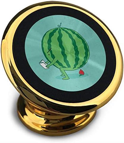 スイカはイチゴを引き出します 携帯電話ホルダー おしゃれ 車載ホルダー 人気 磁気ホルダー 大きな吸引力 サポートフレーム 落下防止 360度回転