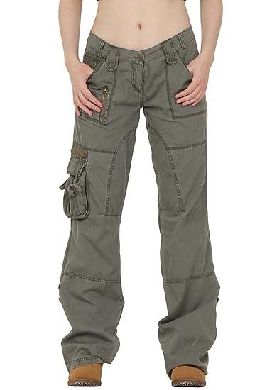 Pantalon Treillis Femme