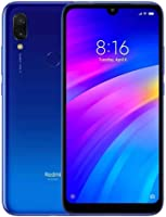 Smartphone Xiaomi Redmi 7 Azul 32Gb Dual 4G Tela 6.26 + Capa/Global