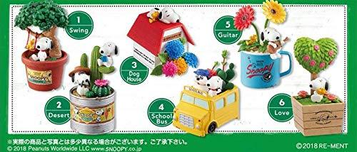 Re-Ment Lindo Juego de miniaturas Muy detalladas con Snoopy y Plantas,, Japón: Amazon.es: Juguetes y juegos