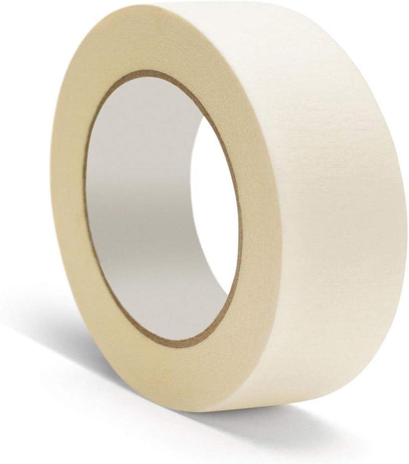 "96 Rolls General Purpose Masking Tape 2/"" x 60 Yards Utility Grade Tapes 5 Mil"