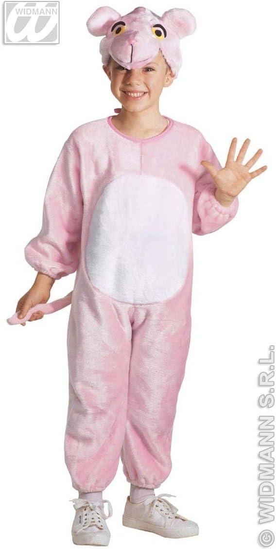Desconocido Pequeña de peluche de color rosa traje de pantera ...