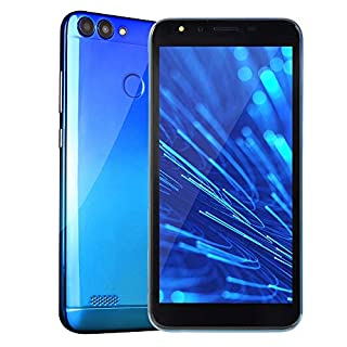 2019 New -Unlocked Cell Phone, 5.5''Ultrathin Android 6.0 Octa-Core 512MB+4G GSM WiFi Touch Screen Smartphone Mobile Phone (Blue)