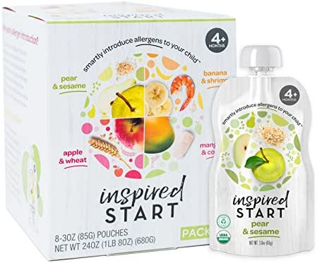 Baby Food: Inspired Start Early Allergen Introduction