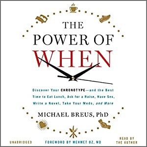 The Power of When Audiobook
