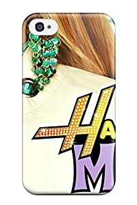 New Diy Design Hannah Montana For Iphone 4/4s Cases Comfortable For Lovers And Friends For Christmas Gifts