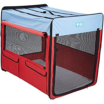 Amazoncom dogit deluxe soft crate with bag for pets xx for Xl dog travel crate