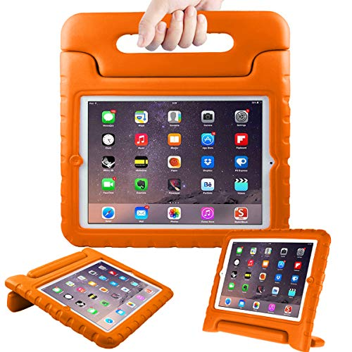 AVAWO Kids Case for Apple iPad 2 3 4 - Light Weight Shock Proof Convertible Handle Stand Kids Friendly for iPad 2, iPad 3rd Generation, iPad 4th Generation Tablet - Orange