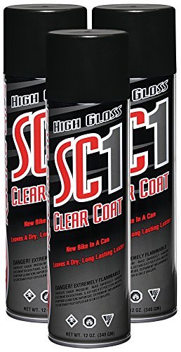 Maxima 78920-3PK SC1 Clear Coat Silicone Aerosol Spray, 36 fl. oz., 3 Pack Size: 36 Ounces (Pack of 3), Model: 78920-3PK, Outdoor&Repair Store
