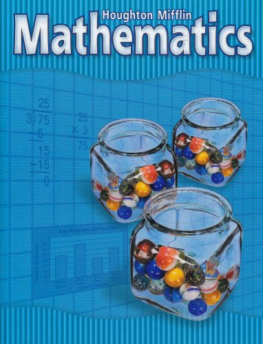 Houghton Mifflin Mathmatics: Student Edition National Level 4 2002