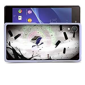 Case88 Designs Puella Magi Madoka Magica Madoka Kaname & Homura Akemi at Walpurgisnacht Protective Snap-on Hard Back Case Cover for Sony Xperia Z2