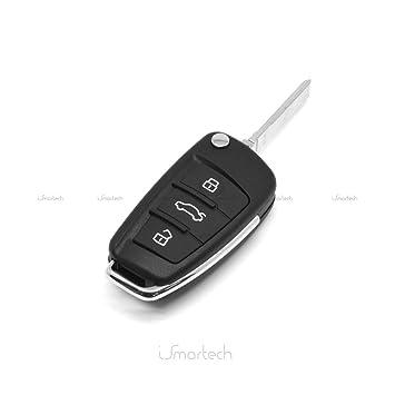 Carcasa Llave Carcasa Mando a distancia 3 botones Audi A1 A3 ...