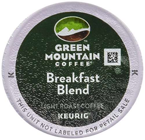 Green Mountain Coffee Breakfast Mix, K-Cup Portion Pack for Keurig K-Cup Brewers - 48 Count