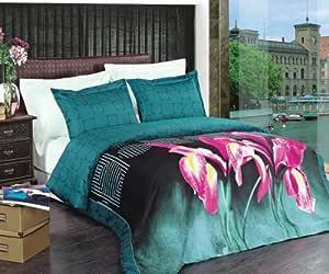 Amazon.com: Royal Hotel Brynna 4pc King/Cal-King Comforter ...