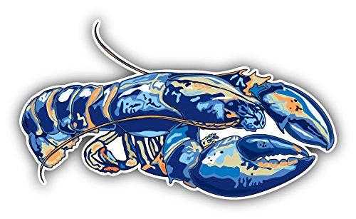 - Watercolor Lobster Art Decor Bumper Sticker 5'' x 3''