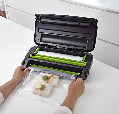 Foodsaver FFS002X Envasadora al vacío, 140 W, plástico, Negro ...
