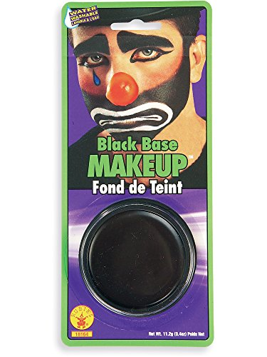 Rubie's Costume Co Grease Paint Makeup-Black Costume ()