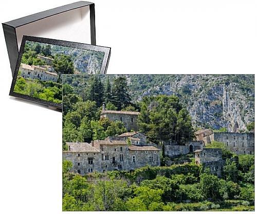 Photo Jigsaw Puzzle of Medieval village of Oppede le Vieux, Vaucluse, Provence Alpes Cote d Azur (Vieux Village)