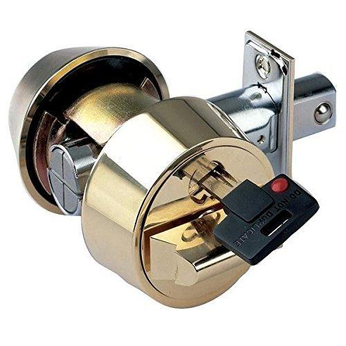 Mul-t-lock Hercular Double Cylinder Captive key Deadbolt - Satin Chrome - Assa High Security Locks