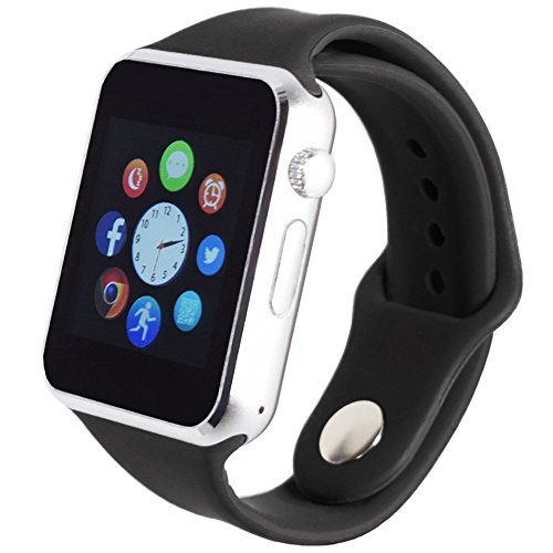 A1 Bluetooth Smart Watch SIM Ranura para Tarjeta TF teléfono ...