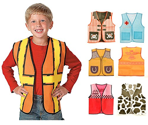 Kids Dressup Woven Costume Vests