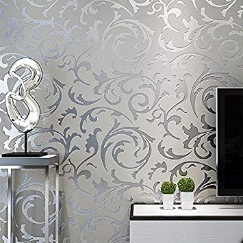 Buy Generic Grey 3d Wallpaper Roll Home Decor Living Room Bedroom Wall Coverings Silver Floral Luxury Wall Paper Online At Low Prices In India Amazon In,Structural Engineer Civil Engineer Business Card Design