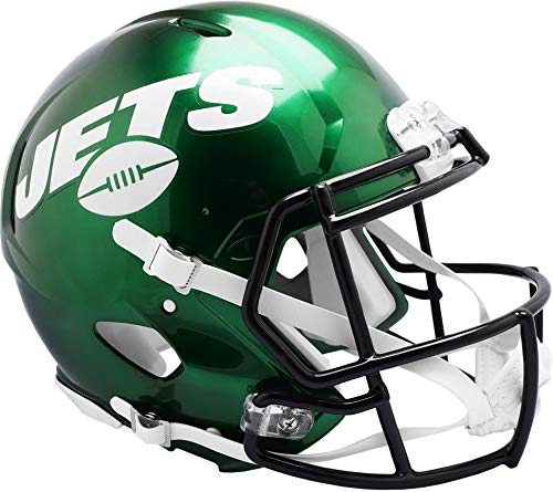 Riddell New York Jets Revolution Speed Authentic Football Helmet - Fanatics Authentic Certified - NFL Authentic Helmets