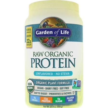 Organic Protein Unflavored Powder Pack