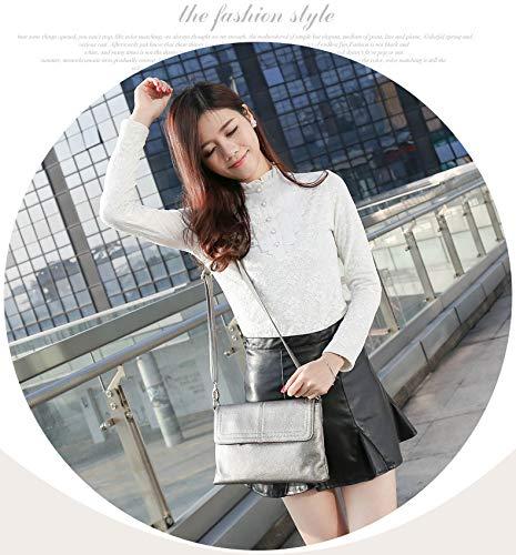 Tide Ladies Glqym Single Leather Fashion Bag Shoulder x881CSq