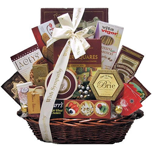 Great Arrivals Sympathy Gift Basket, With Deepest Sympathy