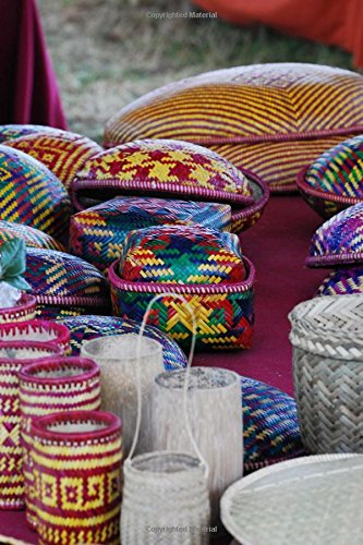 Basket Weaving from Bhutan Journal: 150 page lined notebook/diary