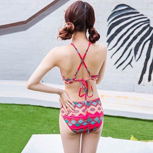 WL-zzf Bikini Bikini Bikini DREI Stücke von National Wind Beach Holiday Konservatismus B07FKLFHNQ Bikini-Sets Erschwinglich 47463e