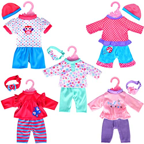 5-Pack Playtime Outfits for 11
