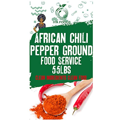 African Chili Pepper Ground (55 lbs) by Iya Foods (Image #4)