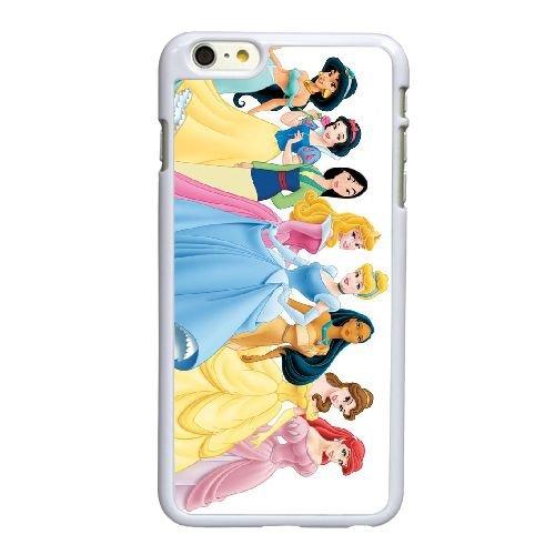 M8L21 Disney Princess U2P8TD coque iPhone 6 4.7 pouces cas de couverture de téléphone portable coque blanche DG4GKI2KQ