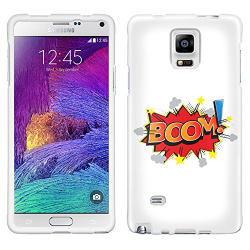 Samsung Galaxy Note 4 BOOM! Comic Book on White Case