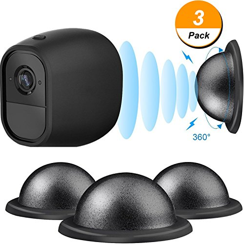 Outdoor Mount Metal Magnetic Mount for Arlo, 3 Pack Ceiling/ Table Mount for Arlo with Base Station-Arlo, Arlo Pro, Arlo Pro 2, Arlo GO, (3 Pack Base)