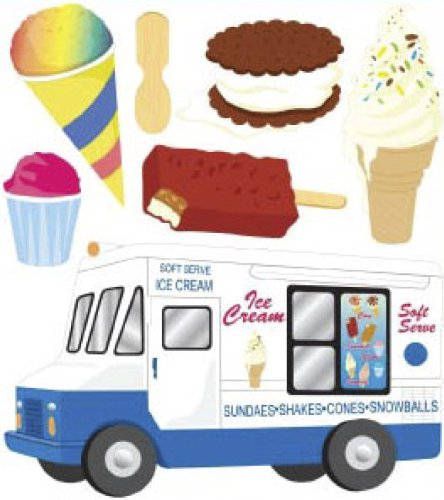 - Jolee's Boutique Dimensional Stickers, Ice Cream Man
