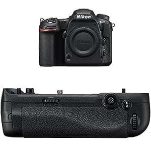 Nikon D500 DX-Format Digital SLR (Body Only) w/ Nikon MB-D17 Multi Battery Power Pack