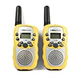Kids Toys Walkie Talkie,Joopee Intercom - 2pcs Portable Wireless Walkie-talkie Set Eight Channel 2 Way Radio Intercom 5KM Travel