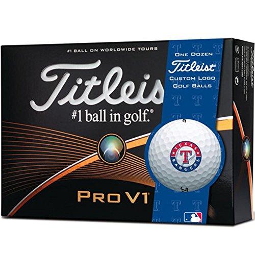 Titleist Pro V1 Prior Generation MLB Golf Balls 1 Dozen Texas White