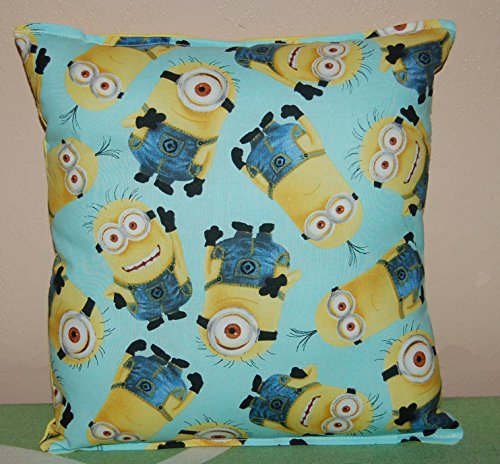 Minion Pillow Teal Grouped Minions Handmade Toddler Daycare