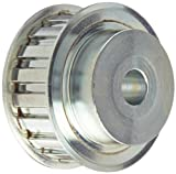 Gates PB19L075 PowerGrip Steel Timing Pulley, 3/8'' Pitch, 19 Groove, 2.268'' Pitch Diameter, 5/8'' to 7/8'' Bore Range, For 3/4'' Width Belt