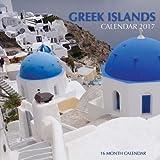 Greek Islands Calendar 2017: 16 Month Calendar