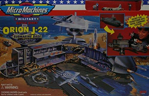 Micro Machines Orion J-22 Submarine Base Playset