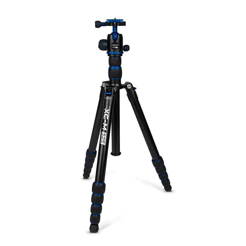 【破格値下げ】 Promaster ブルー XC-M 525K プロフェッショナル 三脚キット XC-M ヘッド付き B07PXMGX7C ブルー (4077) B07PXMGX7C, 【お取り寄せ】:efb23e06 --- martinemoeykens.com