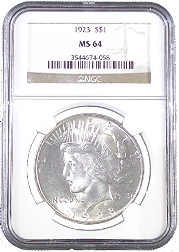 1923 P Peace Dollar NGC MS64